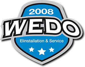 Wedo Elinstallation